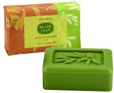 Thymes Bar Soap Olive Leaf Bar