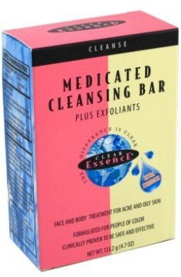 Clear Essence Medicated Cleansing Bar+Exfoliants