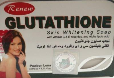 Renew glutathione skin whitening soap
