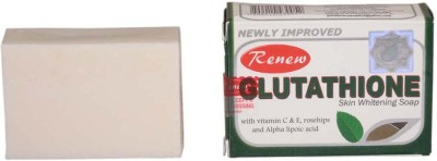 Renew Glutathione Soap For Skin Whitening And Anti Aging In 2 Weeks,3pc