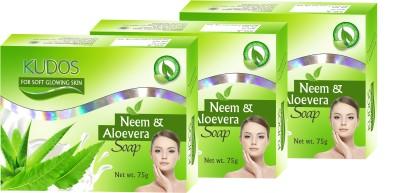 Kudos Neem & Aloevera Soap X3