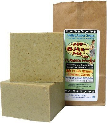 SallyeAnder Soaps, Inc. SallyeAnder No Bite Me Soap With Bag Quantity Single Bar