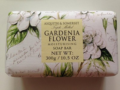 Asquith & Somerset Gardenia Flower Moisturizing Triple Milled Soap