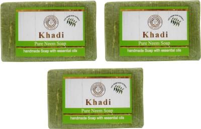 Khadi Herbal NaturalPure Neem Soap Pack Of 3