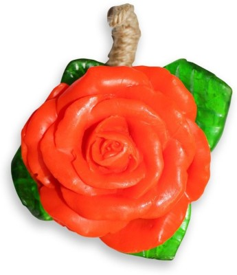 LABOTE Red Rose Flower Shaped Soap
