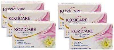 West-Coast Kozicare Skin Whitening Soap (Pack of 6)