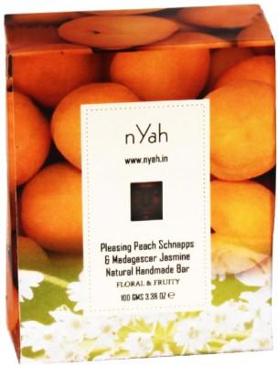 Nyah Pleasing Peach Schnapps & Madagascar Jasmine Natural Handmade Bar