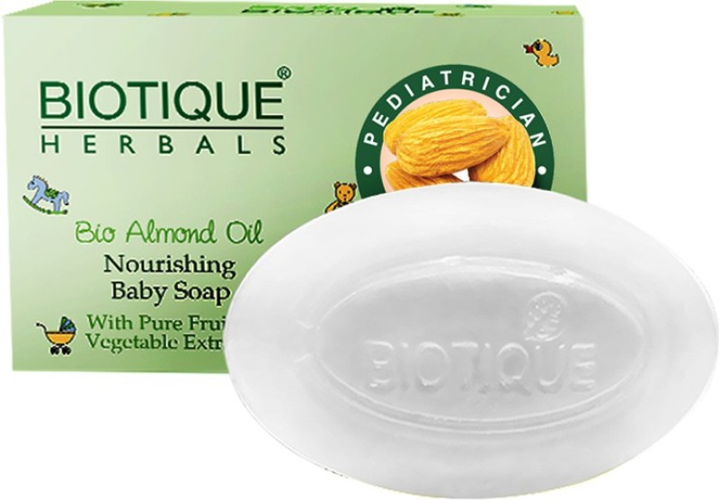 Biotique BIO ALMOND OIL NOURISHING BABY SOAP 100 GM(100 g)