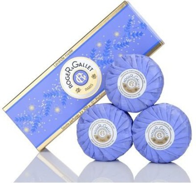 Roger & Gallet Lavender (Lavande Royale) Perfumed Soap Boxed Set
