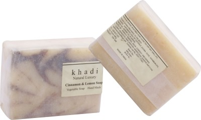 Khadi Natural Khadi soap Cinnamon & Lemon Soap pack of 2