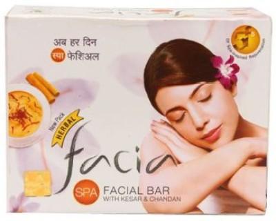 Ratan Ayurvedic Facia Spa Facial Bar Herbal With Kesar (Saffron) & Chandan (Sandalwood)