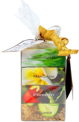 Soap Opera Lemongrass, Frangipani, Strawberry, Cucumber Soaps - 3+1 combo pack
