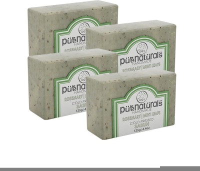 Purenaturals Hand Made Soap Rosemary | Mint Leafs(125 g)