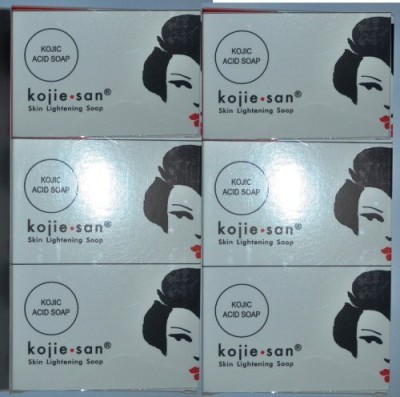 BEVI KOJIE SAN SKIN LIGHTENING KOJIC ACID SOAP 6-PACK(100 g) at flipkart