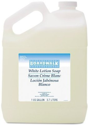Boardwalk Cleansing Lotion Soap Coconut Scent Liquid Bottle (Case of 4)(3700 ml)