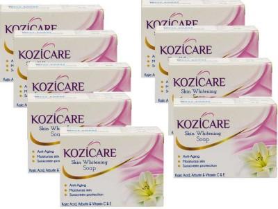 West-Coast Kozicare Skin Whitening Soap (Pack of 9)