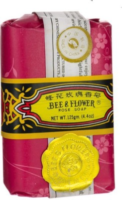 Bee & Flower Soap With Rose Fragrance