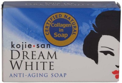 Kojie San Dream White Soap With Collagen For Anti-Aging 3Pc