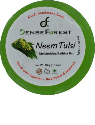 Dense Forest Neem Tulsi Handmade Khadi Soap
