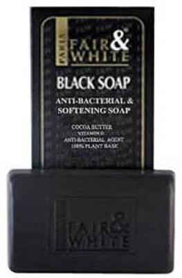 Fair & White Anti-bacterial & Softening Black Soap #64545