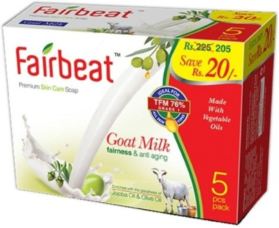 Fairbeat Goat Milk Soap Enriched With Jojoba& Olive Oil