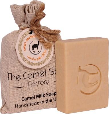 The Camel Soap Factory Natural Sweet Orange Camel Milk Soap