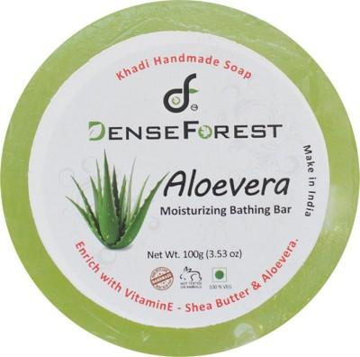 Dense Forest Aloevera Khadi Handmade Soap
