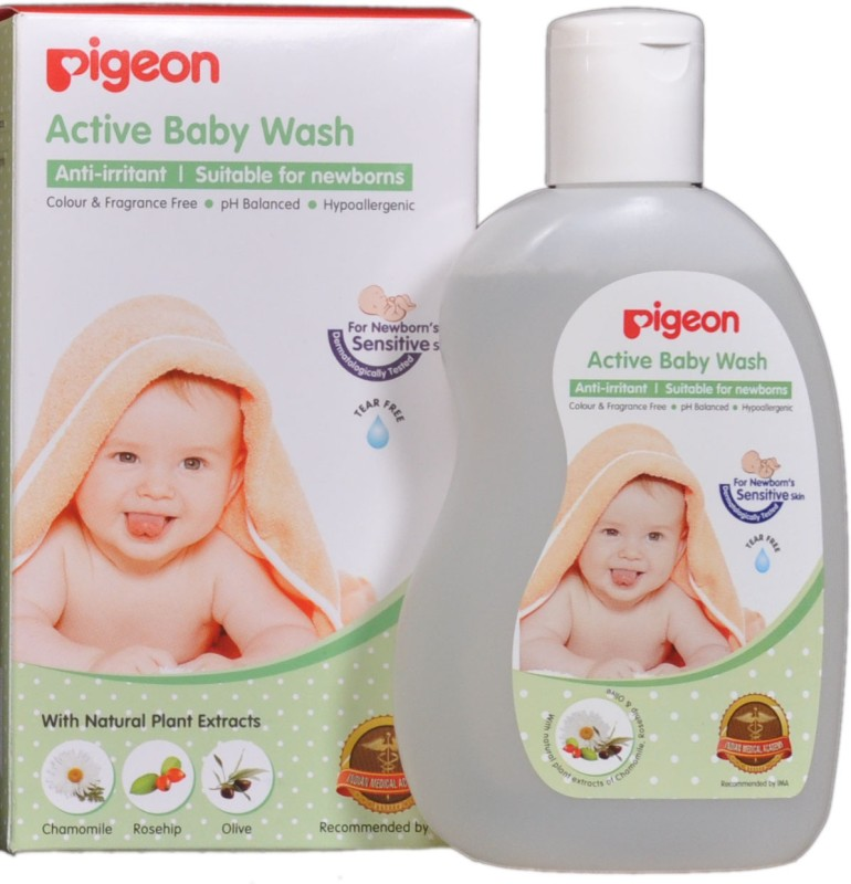 Pigeon Active Baby Wash(200 ml)