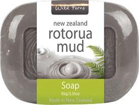 Wild Ferns Rotorua Mud Soap