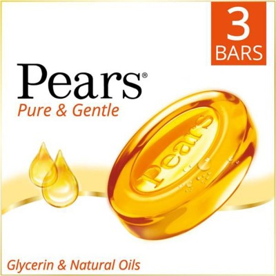 Pears Pure & Gentle Bathing Bar(375 g)