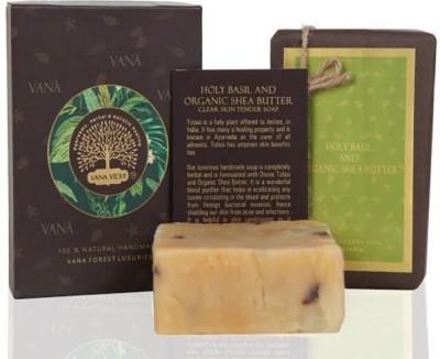 VANA VIDHI Holy Basil & Organic Shea Soap