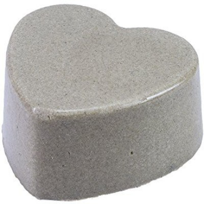 Lava Love Heart Vegan Volcano Soap Made with Volcanic Ash (Bentonite Zeolite Pumice) From Oregon and Shea Butter One Bar