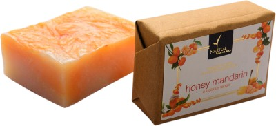 Natural Bath & Body Honey Mandarin Bathing Bar