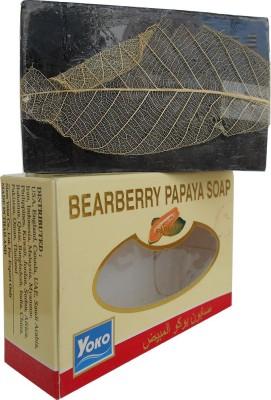 Yoko Bearberry Papaya Whitening Soap