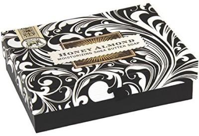 Michel Design Works Triple Milled Double Soap Box Set Honey Almond