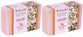Khadi Mauri Jasmine Soap - Pack of 2 - Premium Handcafted Herbal