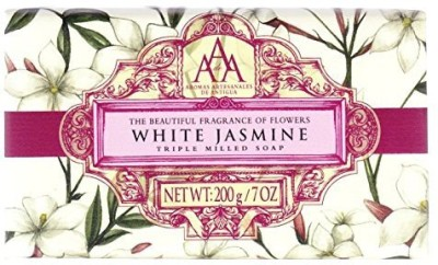 AAA Floral White Jasmine Triple Milled Soap(200 g)