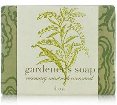 Saipua Rosemary Mint with Cornmeal Gardener's Soap