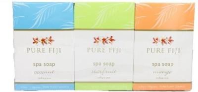 Pure Fiji Spa Soap Gift Set- (6)