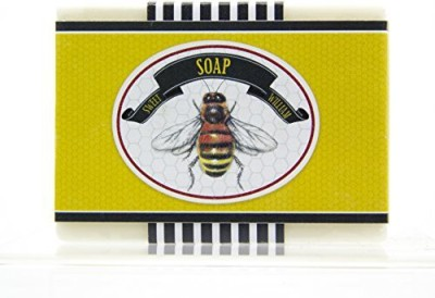 Red Co. Honey Bee Gentle Organic Soap (Pack of 3) Made in USA