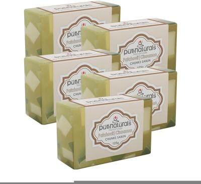 Purenaturals Chunks Soap Patchouli | Cinnamon - 125g (Set of 5)