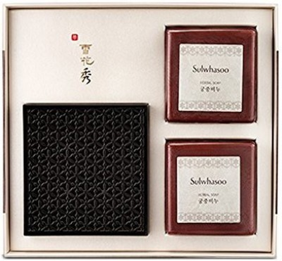 Sulwhasoo (AMORE PACIFIC) [Sulwhasoo] Herbal Soap SET (Goong-Joong Soap) 2pcs / FREE Gift Wrap!