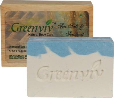 Greenviv Natural Sea Salt Scrub Soap