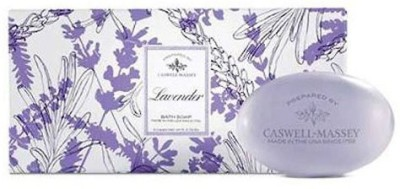 Caswell-Massey Lavender Bar Soap Set 3 Count