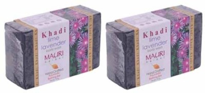 Khadimauri Lime-Lavender Soap - Pack of 2 - Premium Handcafted Herbal