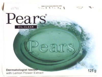 Pears Oil Clear Soap Pack of 3