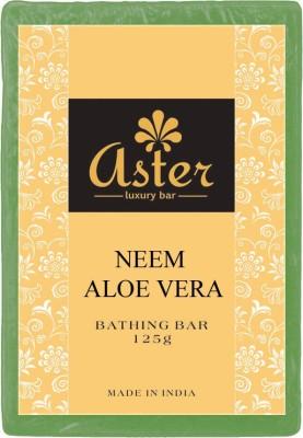 Aster Luxury Neem Aloe vera Bathing Bar 125g