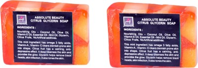Absolute Beauty Citrus Glycerin Whitening Glow Skin Care Handmade Fairness Soap Combo-2