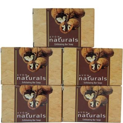 Avon Naturals Exfoliating Bar Shop (Set of 5)(525 g)