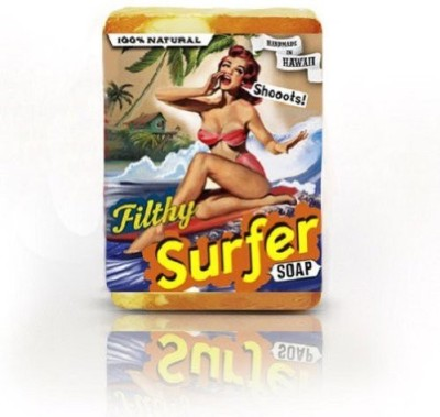 Filthy Farmgirl Surfer BAR SOAP Coconut Lime Grapefruit NATURAL Onolicious Citrus Choke